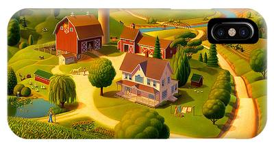 Rural Scene IPhone Cases