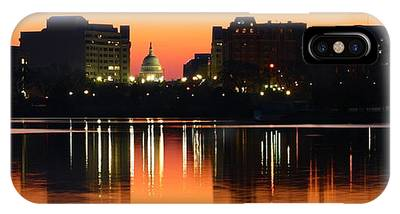 Sunrise Over The Capitol-2 IPhone Case