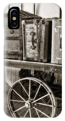 Train Station Luggage Cart IPhone Case