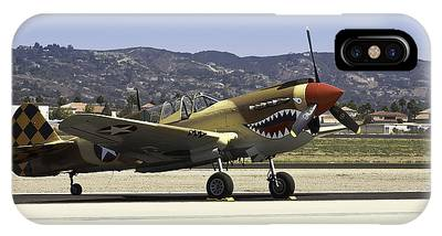 IPhone Case featuring the photograph Vintage Military Aircrafts by Richard J Thompson