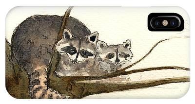 Raccoon Phone Cases