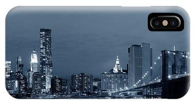 Manhattan Downtown IPhone Case