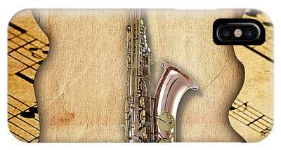 Saxophone Phone Cases