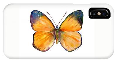 19 Delias Anuna Butterfly IPhone Case