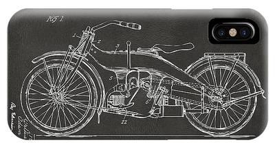 Harley Davidson Patent Phone Cases
