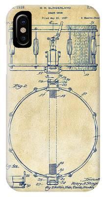 Snare Drum Phone Cases