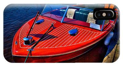 1956 Chris-craft Capri Classic Runabout IPhone Case