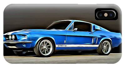 1967 Shelby Mustang Gt500 IPhone Case