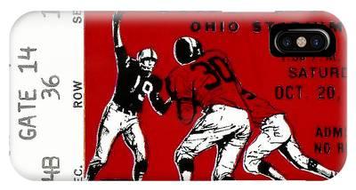 1979 Ohio State Vs Wisconsin Football Ticket IPhone Case