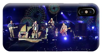 IPhone Case featuring the photograph Coldplay - Sydney 2012 by Chris Cousins
