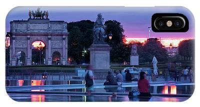 Arc De Triomphe Du Carrousel Phone Cases