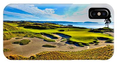 #15 At Chambers Bay Golf Course - Location Of The 2015 U.s. Open Tournament IPhone Case