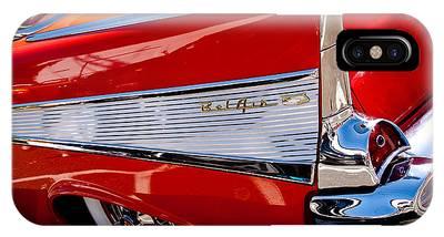 1957 Chevy Bel Air Custom Hot Rod IPhone Case