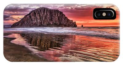Crimson Sunset IPhone Case