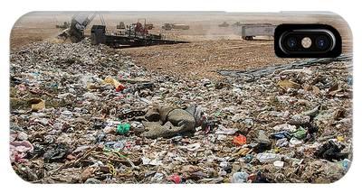Rubbish Bin Photographs iPhone Cases