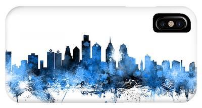 Philadelphia Skyline Phone Cases