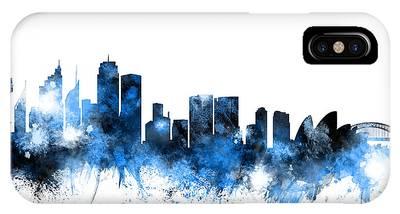 Sydney Skyline Phone Cases
