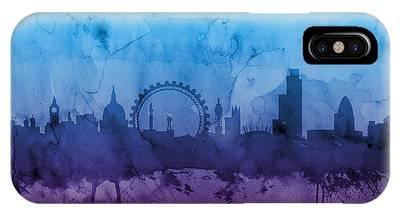London Skyline Phone Cases
