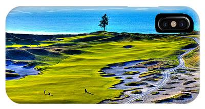 #5 At Chambers Bay Golf Course - Location Of The 2015 U.s. Open Tournament IPhone Case