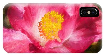 Pink Poppy Blossom Macro Phone Cases