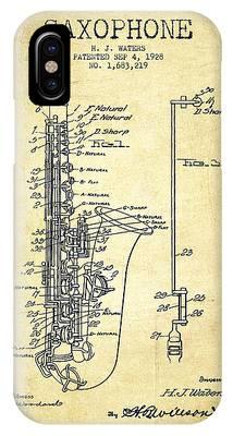 Patent Illustration Phone Cases