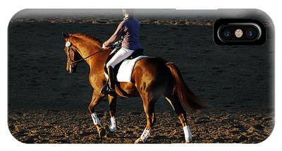 Hanovarian Dressage Horse Phone Cases