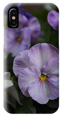 IPhone Case featuring the photograph Viola Tricolor Heartsease by Michael Goyberg