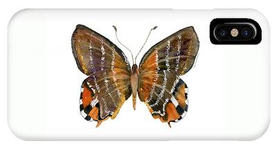 60 Euselasia Butterfly IPhone Case
