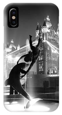 Tower Bridge And Statue IPhone Case
