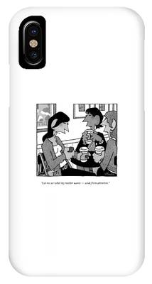 Let Me See What My Mother Wants  -  Aside IPhone Case