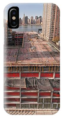 IPhone Case featuring the photograph 9th Floor Forms by Steve Sahm