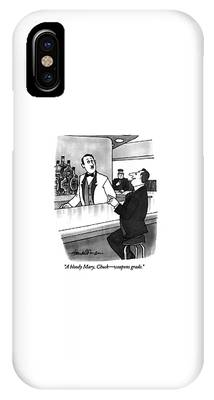 Bloody Mary Phone Cases