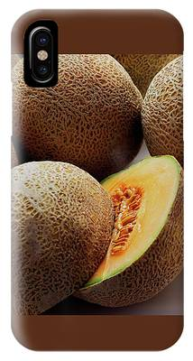 A Cantaloupe Sliced In Half IPhone Case