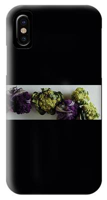 A Group Of Cauliflower Heads IPhone Case