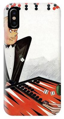Backgammon Phone Cases