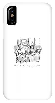 A Man With Dozens Of Carrier Pigeons Sits IPhone Case