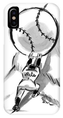 Baseball Player Phone Cases