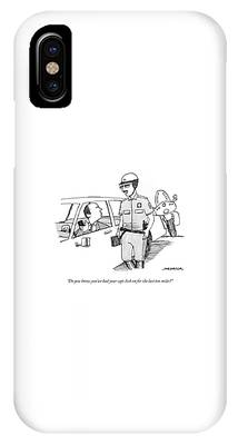 You've Had Your Caps Lock On For The Last Ten Miles IPhone Case
