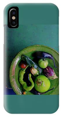 A Plate Of Vegetables IPhone Case