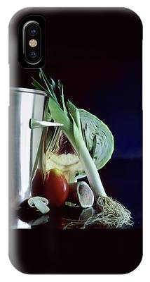 A Pot With Assorted Vegetables IPhone Case