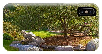 IPhone Case featuring the photograph A Secluded Area In The Park by Richard J Thompson