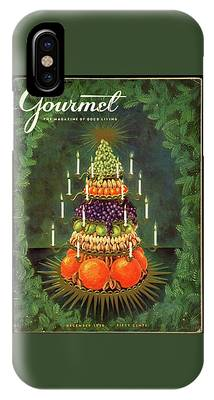 A Tiered Christmas Centerpiece IPhone Case