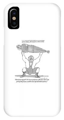 Weightlifting Phone Cases