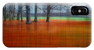 abstract atumn II IPhone Case