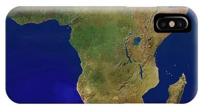 Equatorial Africa Phone Cases