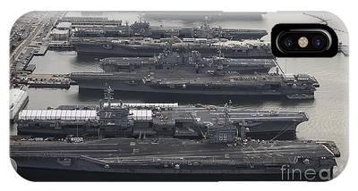 Norfolk Naval Station Phone Cases