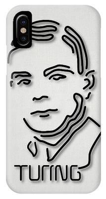 Alan Turing Phone Cases