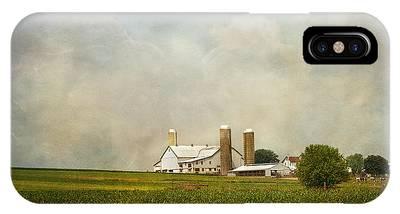 Amish Farmland IPhone Case