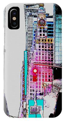 Crossroads Of The World Digital Art iPhone Cases