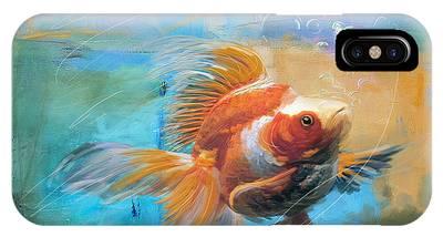 Goldfish iPhone Cases